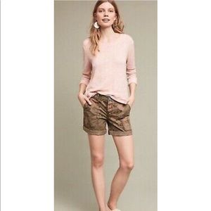 Hei Hei Anthropologie The Wanderer Camo shorts